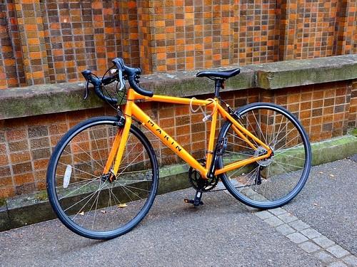 Cykel gul aktiv